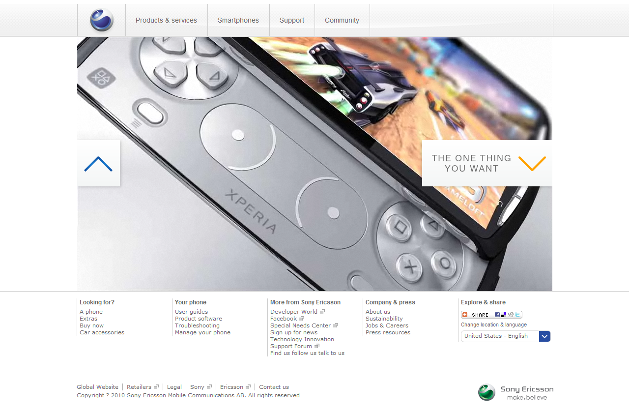 Discover Xperia™ PLAY