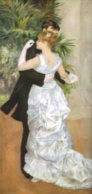 《都会のダンス》[1883](オルセー美術館蔵)