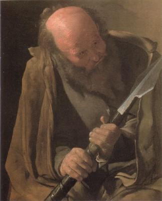 ジョルジュ・ド・ラ・トゥール《聖トマス》