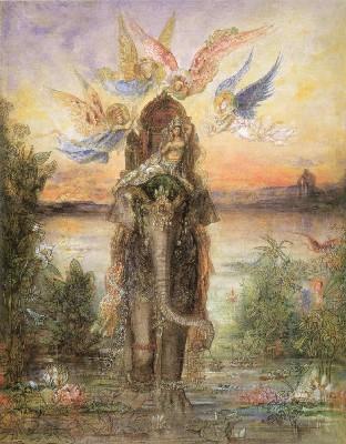 ギュスターヴ・モロー《聖なる象》