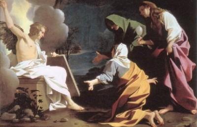 バルトロメオ・スケドーニ《キリストの墓の前のマリアたち》