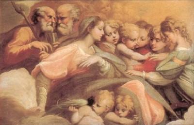 パルミジャニーノ《聖カタリナの神秘の結婚》
