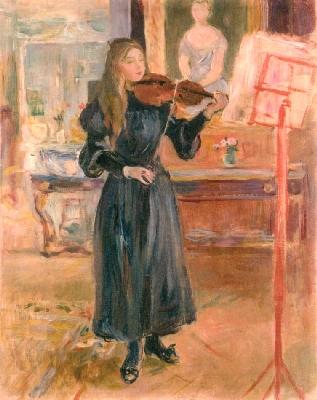 《ヴァイオリンの稽古》
