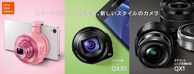 レンズスタイルカメラ