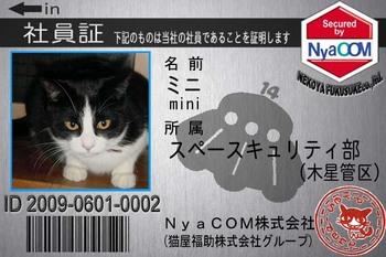 ニャコム社員証ミニ3839FE3838B-02552 09.5.31.jpg