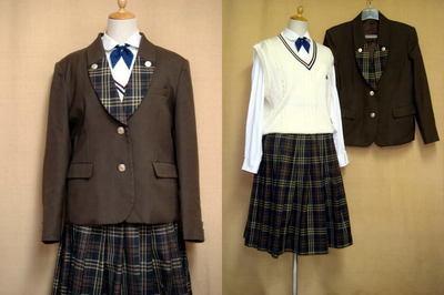 大阪市立住吉商業高等学校制服画像