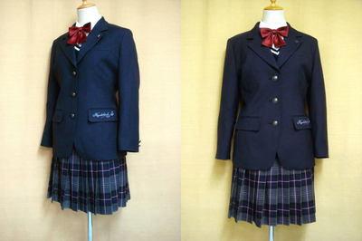 東筑紫学園高等学校制服画像