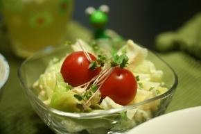 キャベツとツナのサラダ
