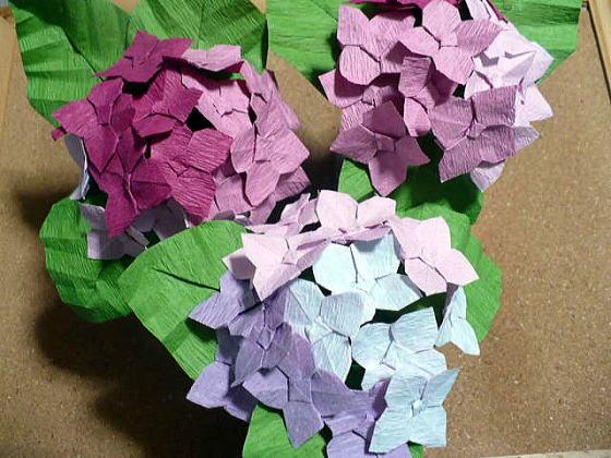 折り 折り紙 折り紙 紫陽花 : azisai6.seesaa.net