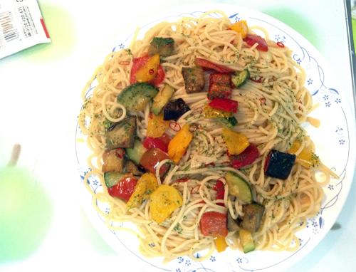 欧風野菜とペペロンチーノ_02.jpg