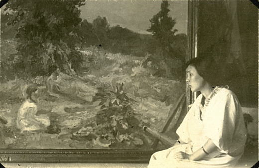 「草原」と淑子夫人19280820.jpg