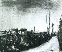 上落合の橋の附近1926.jpg
