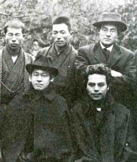 岸田劉生と木村荘八1919.jpg