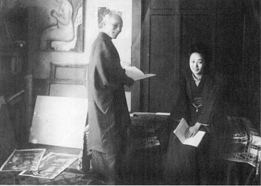 満谷国四郎と宇女夫人.jpg