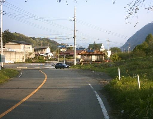 天てれドラマ ぼくがぼくであること 「山の中」 のバス停