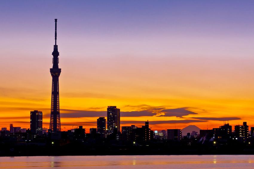 富士山と東京スカイツリー 11121059.jpg