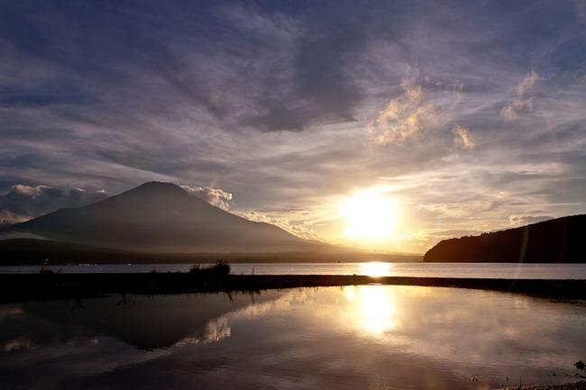 山中湖湖畔の夕 10090708.jpg