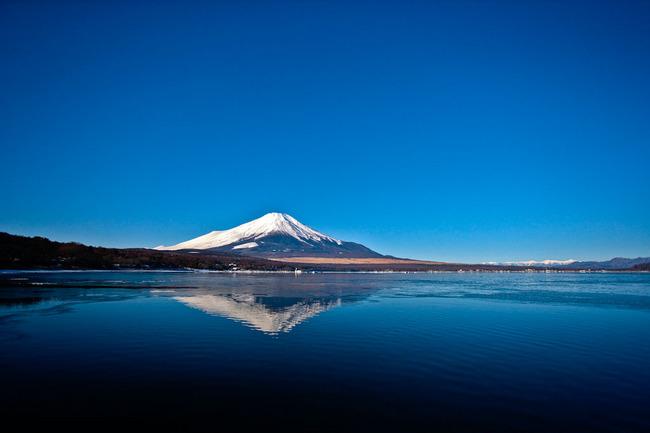 氷の平野の富士山 10011759.jpg