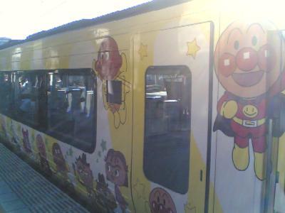 アンパンマン列車外装2
