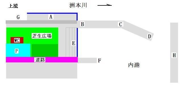 洲本港 地図