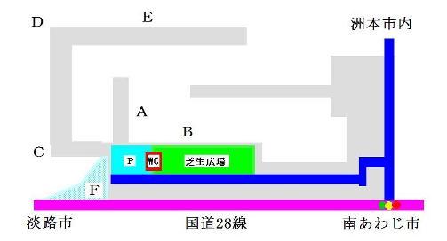 炬口漁港地図