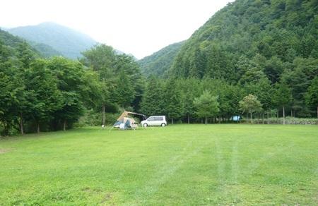 西湖テント村キャンプ場