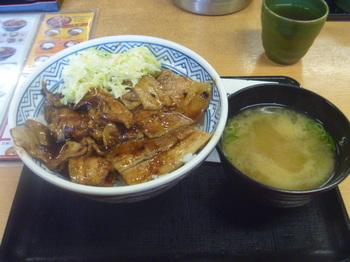 豚丼セット.JPG