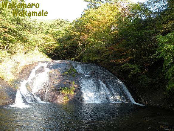 秋の釜淵の滝.JPG