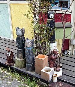 青梅裏道のトーテンポール burogu.jpg
