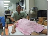 阿部先生の治療1