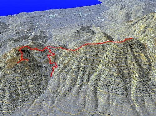 内山登山ルート
