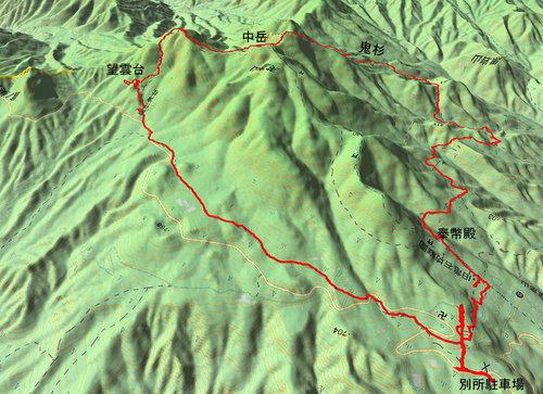 英彦山GPS