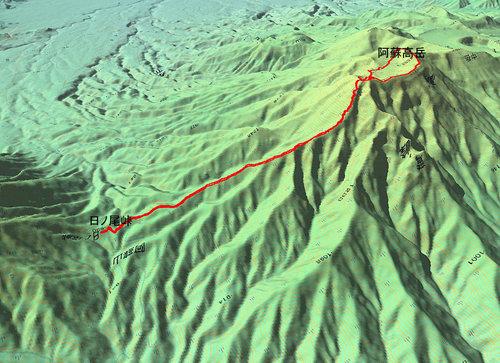 阿蘇高岳GPS
