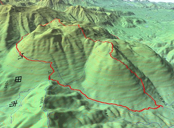 黒岳GPS