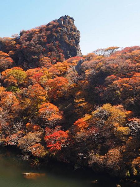 御池の紅葉 2