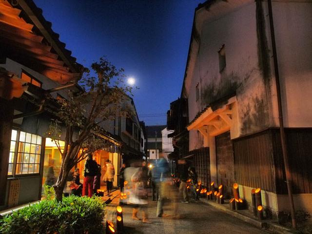 月夜の竹田