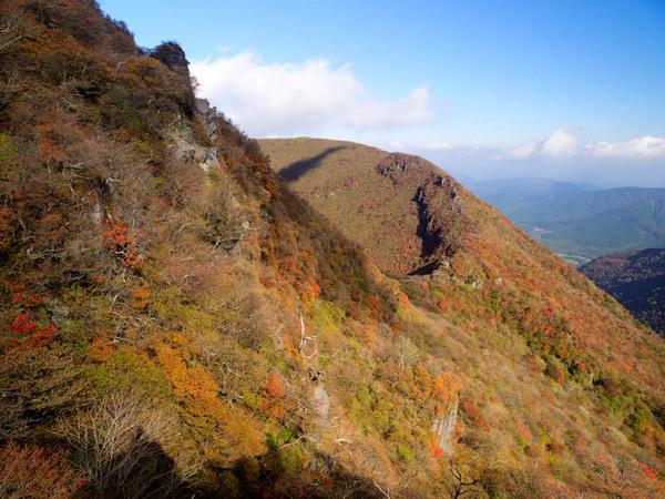 大船山の南斜面