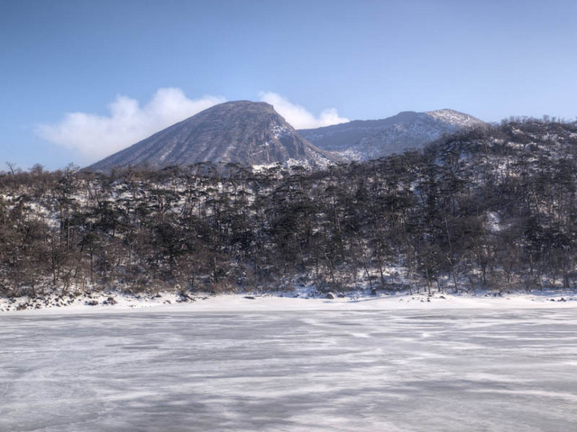 六観音御池と韓国岳