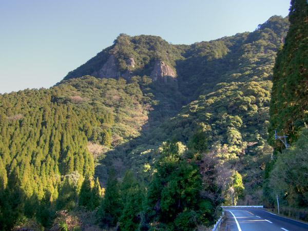 双石山の第2、3展望台あたり