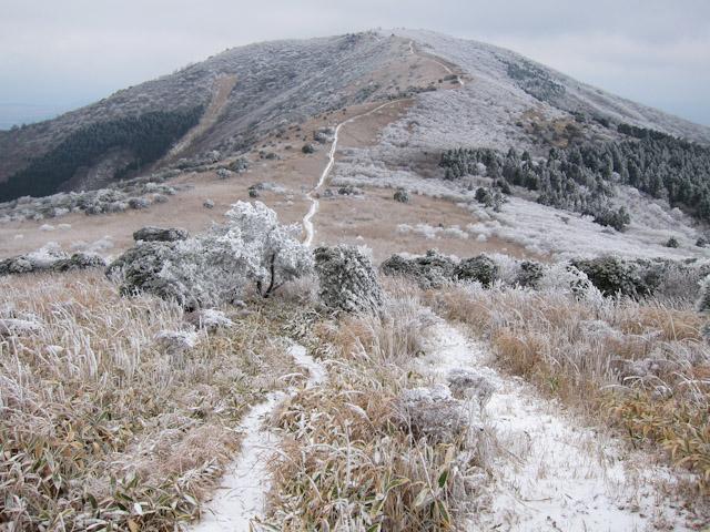 猟師山へのトレール