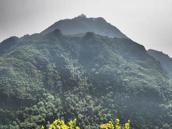 普賢岳と平成新山