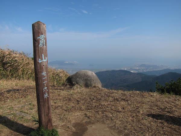 貫山の山頂