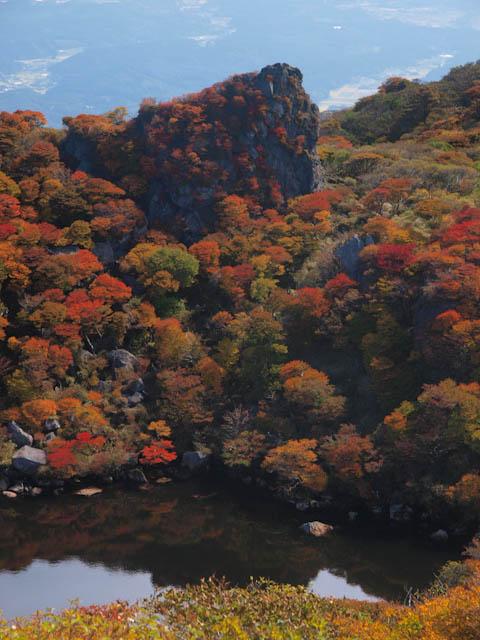 御池のライオン岩