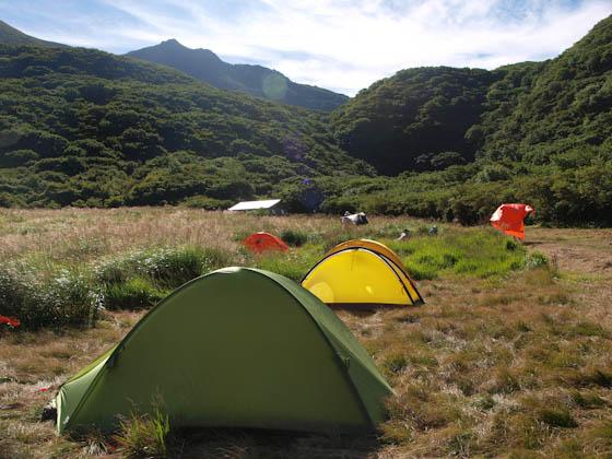 坊ガツルのキャンプ場