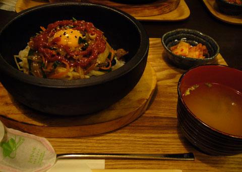 ベクトラジ(石焼プルコギビビンバ定食).jpg