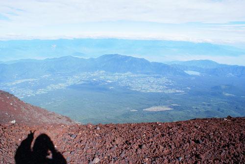 『ピース』。。。(富士山)