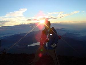 店員コラム「富士登山の旅」掲載しました。