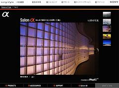 「salon α」情報-『11月の写真』掲載