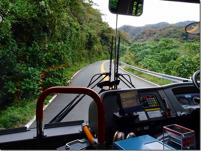 伊豆急下田駅から雲見温泉バス