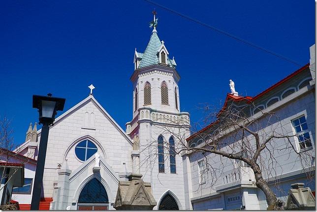 元町 カトリック元町教会 北海道 函館市